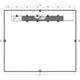 Кухня арт. № 11015